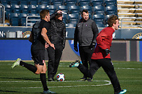 Chester, PA - Sunday December 10, 2017: Stanford University during the NCAA 2017 Men's College Cup championship match between the Stanford Cardinal and the Indiana Hoosiers at Talen Energy Stadium.