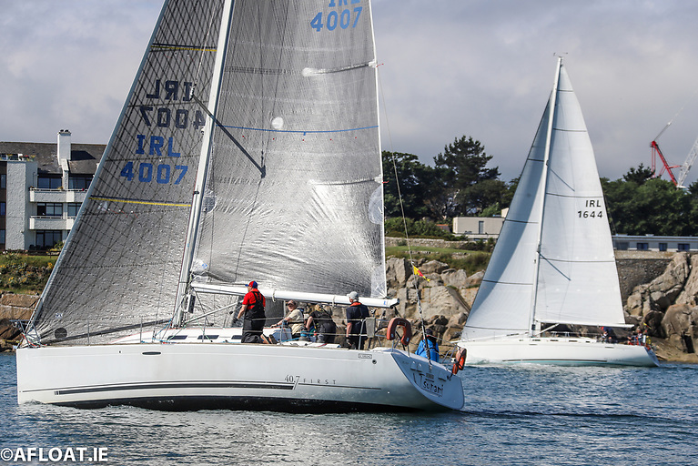 Vincent Farrell's Tsunami from the National Yacht Club was the final race DBSC Cruisers Zero winner on IRC and ECHO