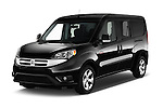 2017 Ram Promaster City SLT 5 Door Mini Mpv Angular Front stock photos of front three quarter view