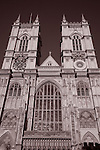 Westminster Abbey Church in London, England