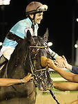 June 28, 2015 Good Lord (Brian Hernandez) wins the Kelly's Landing Stakes at Churchill Downs.  Owner Thomas D. Shank and Stan Young, trainer Forrest Kaelin. ©Mary M. Meek/ESW/CSM