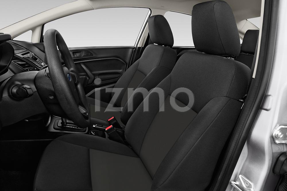 Front seat view of 2017 Ford Fiesta SE 4 Door Sedan Front Seat  car photos