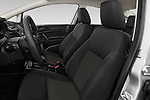 Front seat view of 2017 Ford Fiesta SE 4 Door Sedan Front Seat  car photos