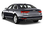 Car pictures of rear three quarter view of 2017 Audi A4 Sport 4 Door Sedan Angular Rear