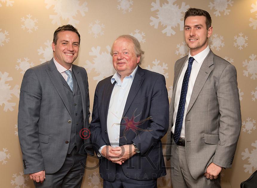 Adam Pye, Managing Director of John Pye Auctions, John Sergeant and Richard Reed, Head of Property, John Pye Property