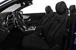 Front seat view of 2017 Mercedes Benz C-Class AMG-Line 2 Door convertible Front Seat  car photos