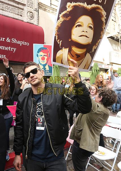 ALos Angeles CA - JANUARY 21: James Franco, At Women's March Los Angeles, At Downtown Los Angeles In California on January 21, 2017. <br /> CAP/MPI/FS<br /> ©FS/MPI/Capital Pictures