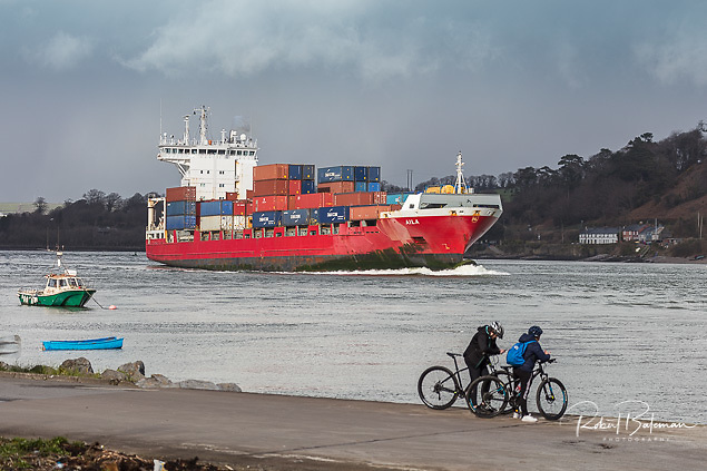 The overall volumes of containers handled by the Port of Cork increased by 4% Photo: Bob Bateman