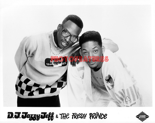 DJ Jazzy Jeff and The Fresh Prince Jazzy Jeff and Will Smith on Jive<br /> photo from promoarchive.com/ Photofeatures