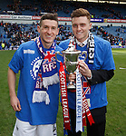 Fraser Aird and Lewis Macleod