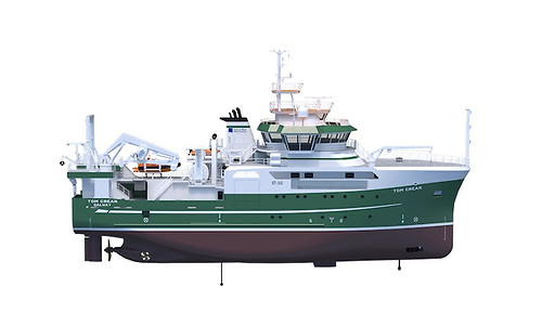 The 52.8-metre ship RV Tom Crean will sail into Irish waters under his name after it is completed next summer.