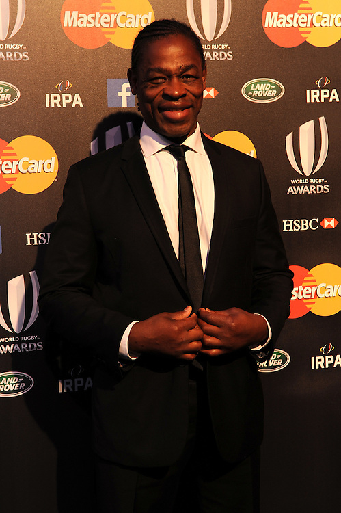 Serge Betsen, former France and Wasps player, at the World Rugby Awards 2015  - 01/11/2015 - Battersea Evolution, London<br /> Mandatory Credit: Rob Munro/Stewart Communications