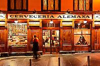 Cerveceria Alemana tapas restaurant and bar, Madrid, Spain