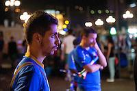 delusione tifosi Italia Spagna