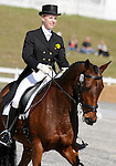 17 October 2008:  Rider Tory Smith and Bantry Bay V sit in the top-10 after the dressage section of the Fair Hill International CCI*** Championship at Fair Hill Equestrian Center in Fair Hill, Maryland.  Dressage is the first stage of the three-day event.