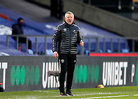 2nd January 2021; Selhurst Park, London, England; English Premier League Football, Crystal Palace versus Sheffield United; Sheffield United manager Chris Wilder  shouting instructions to his players from the touchline