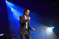 LONDON, ENGLAND - OCTOBER 7: Nick Cave performing at Royal Albert Hall, Kensington, London on October 7, 2021<br /> CAP/MAR<br /> ©MAR/Capital Pictures
