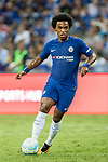 Chelsea Midfielder Willian da Silva in action during the International Champions Cup match between Chelsea FC and FC Bayern Munich at National Stadium on July 25, 2017 in Singapore. Photo by Weixiang Lim / Power Sport Images