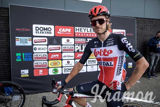 Jonathan Dibben (GBR/Lotto-Soudal) pre race<br /> <br /> Heistse Pijl 2020<br /> One Day Race: Heist-op-den-Berg > Heist-op-den-Berg 190km  (UCI 1.1)<br /> ©kramon