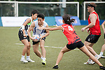 Norton Rose Fulbright vs PCCW Solutions during the Bowl Semi Final part of Swire Touch Tournament on 03 September 2016 in King's Park Sports Ground, Hong Kong, China. Photo by Marcio Machado / Power Sport Images