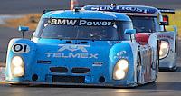 30 January 2011: The winning Ganassi Racing BMW Riley of Scott Pruett, Memo Rojas, Graham Rahal and Joey Hand races to victory in the  Rolex 24 at Daytona, Daytona International Speedway, Daytona Beach, FL (Photo by Brian Cleary/www.bcpix.com)