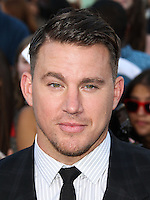 WESTWOOD, LOS ANGELES, CA, USA - JUNE 10: Channing Tatum at the World Premiere Of Columbia Pictures' '22 Jump Street' held at the Regency Village Theatre on June 10, 2014 in Westwood, Los Angeles, California, United States. (Photo by Xavier Collin/Celebrity Monitor)