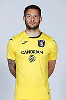 30th July 2020, Turbize, Belgium; Thomas Didillon of Rsc Anderlecht pictured during the team photo shoot of Rsc Anderlecht prior the new Jupiler Pro League season, on 30/07/2020, in Tubize, Belgium.