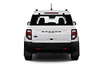 Straight rear view of 2021 Ford Bronco-Sport Base 5 Door SUV Rear View  stock images