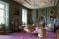 The fittings of the Grenville Room were all installed from pieces reclaimed from the demolishion of Stowe House in the 1720s