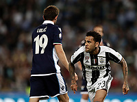 Calcio, Tim Cup: finale Juventus vs Lazio. Roma, stadio Olimpico, 17 maggio 2017.<br /> Juventus' Dani Alves, right, celebrates past Lazio's Senad Lulic after scoring during the Italian Cup football final match between Juventus and Lazio at Rome's Olympic stadium, 17 May 2017.<br /> UPDATE IMAGES PRESS/Isabella Bonotto