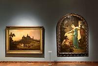Gemälde 19.jh.Nationalgalerie Magyar Nemzeti Galéria im Burgpalast in Buda, Budapest, Ungarn