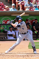 West Michigan Whitecaps first baseman Spencer Torkelson (8) swings at a pitch during a game against the Wisconsin Timber Rattlers on May 22, 2021 at Neuroscience Group Field at Fox Cities Stadium in Grand Chute, Wisconsin.  (Brad Krause/Four Seam Images)