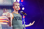 Limahl (Kajagoogoo), Christopher Hamill,  plays the Scottish Rewind Festival at Scone Palace, Perth on Saturday, July 21, 2012.<br /> <br /> Picture: Malcolm McCurrach - New Wave Images. 21/07/2012