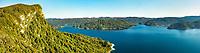 Panekiri Range and Lake Waikaremoana, Te Urewera, Hawke's Bay, North Island, New Zealand, NZ