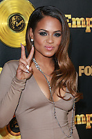 HOLLYWOOD, LOS ANGELES, CA, USA - JANUARY 06: Christina Milian at the Los Angeles Premiere Of FOX's 'Empire' held at ArcLight Cinemas Cinerama Dome on January 6, 2015 in Hollywood, Los Angeles, California, United States. (Photo by David Acosta/Celebrity Monitor)