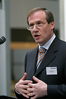 June 29 2004 File Photo, Montreal (Qc) Canada <br /> <br /> Louis Audet, President and CEO, COGECO Cable company<br /> Photo : (c) 2004, Pierre Roussel