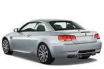 Rear three quarter view of a 2008 BMW M3 Convertible