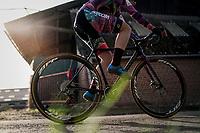 Natalie Redmond (AUS)<br /> <br /> Women's race<br /> Koppenbergcross / Belgium 2017