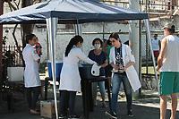Rio de Janeiro (RJ), 27/03/2020 - Vacinacao-Rio - Campanha de vacinacao contra gripe na Clinica da Familia Ana Maria Conceicao dos Santos Correia no Barrirro da Vila Kosmos. As equipes de saude foram alocadas nas ruas para vacinar os moradores dos bairros Vila da Penha e Vila Kosmos e Vicente de Carvalho na zona norte do Rio de Janeiro, idosos acima de 80 anos serao visitado pela equipe de saude na sua residencia. (Foto: Celso Barbosa/Codigo 19/Codigo 19)