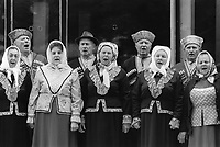 Russia. Krasnodar Krai Region. Krasnodar. City center. A group of seniors singing in choir together during the celebration of the 200th year anniversary of Krasnodar's foundation. The elderly people are all dressed with traditional costumes. Krasnodar (also known as Kuban) is the largest city and the administrative centre of Krasnodar Krai in Southern Russia. 2.10.1993 © 1993 Didier Ruef