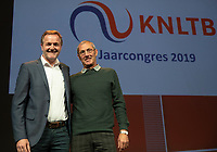 Nieuwegein, Netherlands, November 23,  2019, MBC Congrescentrum, KNLTB Year Congres , Tjerk Bogtstra and Rinus van Leeuwen (R) <br /> Photo: Tennisimages/Henk Koster