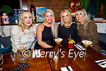 Siobhan O'Dowd, Karen Leahy, Ann Fitzgerald and Grace Davoren enjoying the evening in Benners Hotel on Friday.
