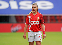 Standard's Davinia Vanmechelen (25) pictured during a female soccer game between Standard Femina de Liege and KRC Genk Ladies  on the third matchday of the 2020 - 2021 season of Belgian Womens Super League , Saturday 3 rd of October 2020  in Liege , Belgium . PHOTO SPORTPIX.BE   SPP   SEVIL OKTEM