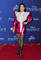 """LOS ANGELES, USA. November 08, 2019: Nuengthida Sophon at the world premiere for Disney's """"Frozen 2"""" at the Dolby Theatre.<br /> Picture: Paul Smith/Featureflash"""