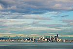 Seattle, skyline, Puget Sound, Elliott Bay, Seattle, Washington State, Pacific Northwest, United States,