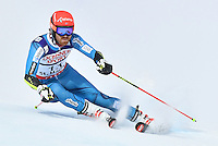 February 17, 2017: Leif Kristian HAUGEN (NOR) competing in the men's giant slalom event at the FIS Alpine World Ski Championships at St Moritz, Switzerland. Photo Sydney Low