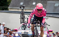 Rigoberto Urán (COL/EF Education - Nippo)<br /> <br /> Stage 5 (ITT): Time Trial from Changé to Laval Espace Mayenne (27.2km)<br /> 108th Tour de France 2021 (2.UWT)<br /> <br /> ©kramon