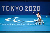 28th August 2021; Tokyo, Japan; Gordon REID (GBR)-Wheelchair Tennis : Men's singles 2nd round match between Leon ELS 0-2 Gordon REID at the Ariake Tennis Park during Tokyo 2020 Paralympic Games in Tokyo, Japan.