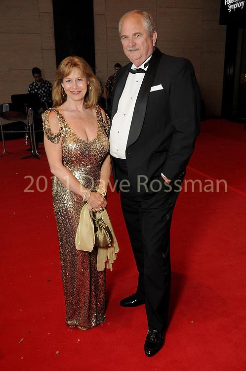 "Cheryl and Sam Byington at the 2016 Houston Symphony Gala ""Carnaval"" at Jones Hall Saturday May 14,2016(Dave Rossman Photo)"