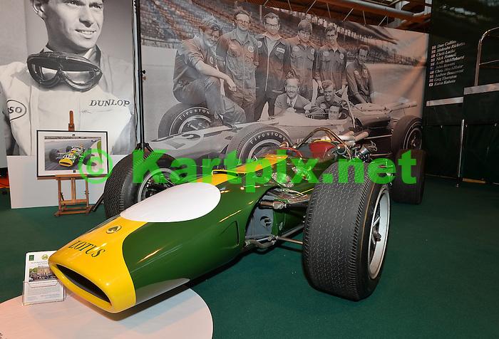 Jim Clark's 1965 Indianapolis winning Lotus 38